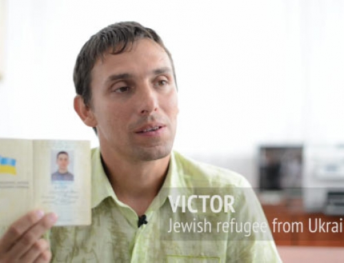 Interview with a Jewish refugee from Ukraine